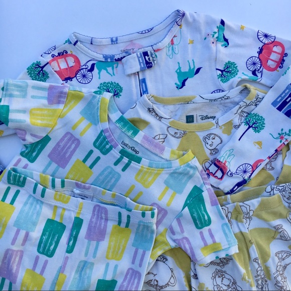 NWT BABY GAP GIRLS PAJAMAS SHORTS popsicles   you pick size